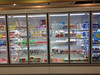 High quality energy efficient upright freezer glass doors for supermarkets walk in freezer