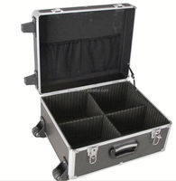 Aluminum black carrying top quality handy Eva inside tool carrying case at affordable price