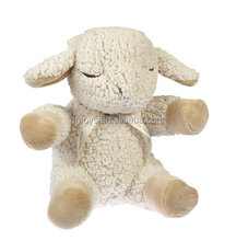 7inch sleeping animals plush sheep baby toys