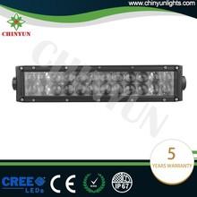 Best quality 120W osram led light bar straight off road lights 13.5inch driving lights
