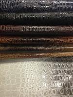 Shining PVC Leather Crocodile pattern for Bag and Furniture ,crocodile leather,crocodile skin