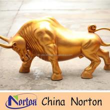 fiberglass cow statue /wall street bull statue NTRS109S