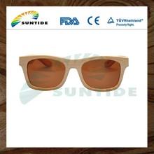 Buy Wholesale Direct From China Film Coating Lens Bamboo Leg Sunglasses