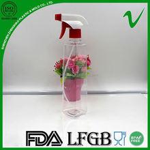 high quality plastic toilet liquid bottle transparent in shenzhen