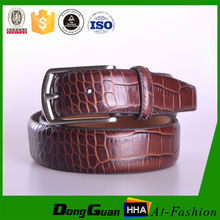crocodile patent fancy original women leather belt