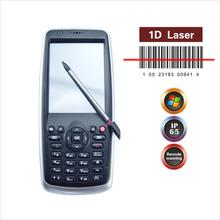 Win mobile 6.5 OS handheld rfid reader with 1D laser brarcode scanner WIFI,GPRS,camara,bluetooth