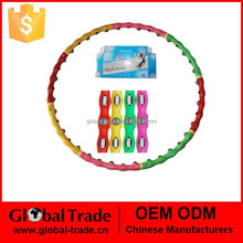 Massage magnetic hula hoops with 4 colors