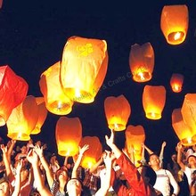 Air balloon sky lantern with no fire to fly