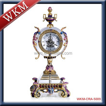 Table clock European style home decoration