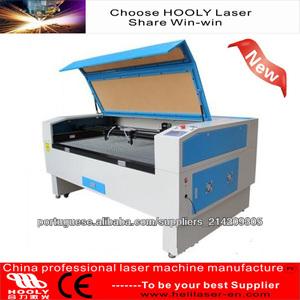CNC Laser Genuine / vaca / Forro Crosta de couro máquina de corte
