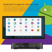 Best Selling Product I68 Support OEM Service Ultra 4K Video Android TV Box 5.1