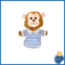 2015 hot sale toys good quality plush monkey puppet toy