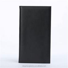 Genuine passport passport cover/genuine leather checkbook cover
