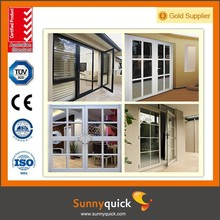 Advanced Technology Aluminum Clading Wood Casement Door with High Value