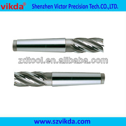 Hss Co8 Taper Shank End Mill