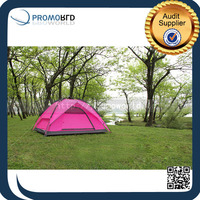 Outdoor Hiking Folding Living Room Pink Large Luxury Camping Tent