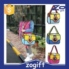ZOGIFT 3D comic shoulder bag popular camera bag