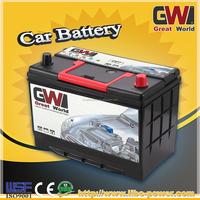 75D31L automotive battery 12v75ah