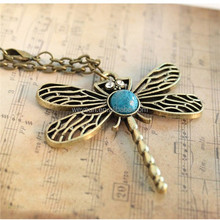sweater chain necklace song of ice and fire Sansa Stark vintage dragonfly pendant for women