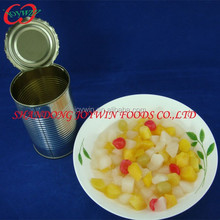 Top quality Canned fruit, Canned fruit cocktail in light syrup