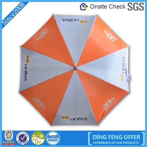 Professional Customized Advertising Straight Promotion Umbrella