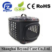 Factory wholesale EVA folding pet carrier plastic