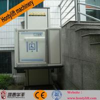 china supply wheelchair lift/hydraulic lift elevator drawing/home elevator kit