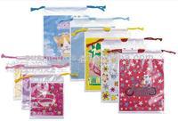 Non Toxic Mini Plastic Drawstring Bags
