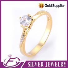 Piedra de circón estilo bodas de Dubai plateado con un toque de oro 24k puro precio excelente