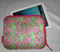 Fancy pattern for IPad mini Neoprene Tablet sleeve