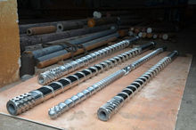 Cheap new coming bevel twin screw barrel for extrusion
