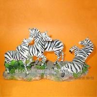 Wild animal zebra craft for home decoration