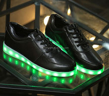 Men and Women Fashion Luminous Shoes High Quality LED Colorful casual Shoes for lover DSH-1148