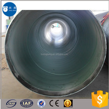 API5L spiral steel pipe with epoxy coal tar coated for Israel underground water supply