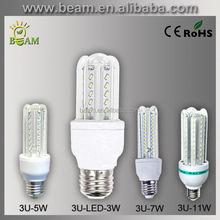 2015 top China supplier high lumen new products 3W 5W 7W 11W smd 3u led bulb led corn bulb