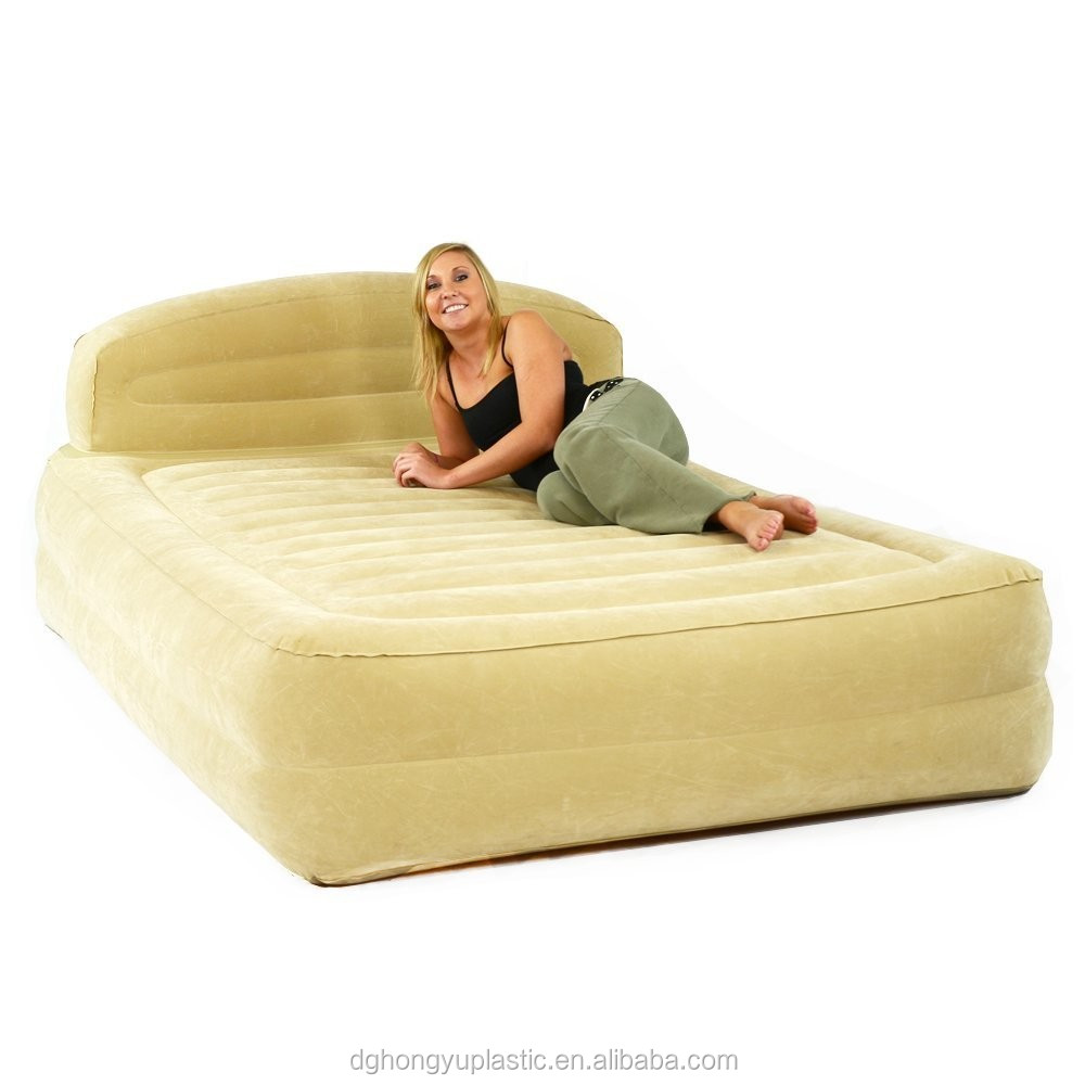 Inflatable Pvc King Size Air Bed Buy Inflatable Plastic Air Mattress Plastic Air Mattress Air