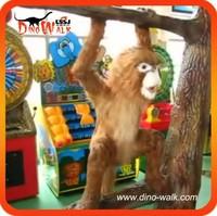 1.5 meters life size animatronic emulation realistic robotic animal monkey