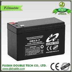 rechargeable storage 12v 7ah vrla battery for power systems