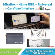 Universal RGB mirror link for Kenwood KDC-U4056 / KDC-U4049 original pioneer car audio / car mirror link