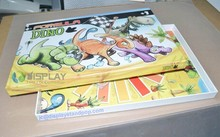 DIY game assemble paper puzzle for games with boxes