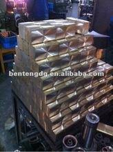 Crystallizer of upward continuous die copper casting machine