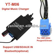 Yatour (RD3/RD4) aux mp3 Peugeot/Citroen radio cd adapter