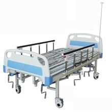 Mobile Multifunctional Manual Home Care Bed