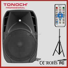 1000 watt 2 way high end professional active bluetooth speaker