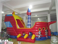 Best selling quality pirete boat inflatable bouncer castle for sale