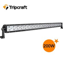 41.5inch 12v 24v offroad led light bar for truck,200w LED working lamp bar driving headlight for buses