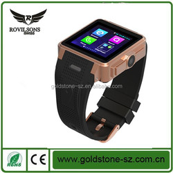 2015 hot unqiue professionally-manufactured smart watch phone with pedometer