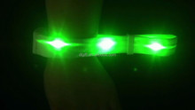 New Product Remote Control Led Wristbands With Customized Logo For Promotional Gift,Night Club,Pubs,Concert,Holidays Or Party.