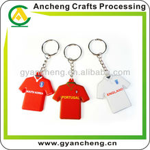 2014 Brazil football World Cup Souvenir T-shirt Keychain
