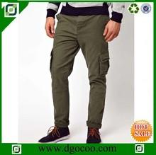 colored cotton side pockets pants bulk Custom newest Fashionable cheap man cargo pants